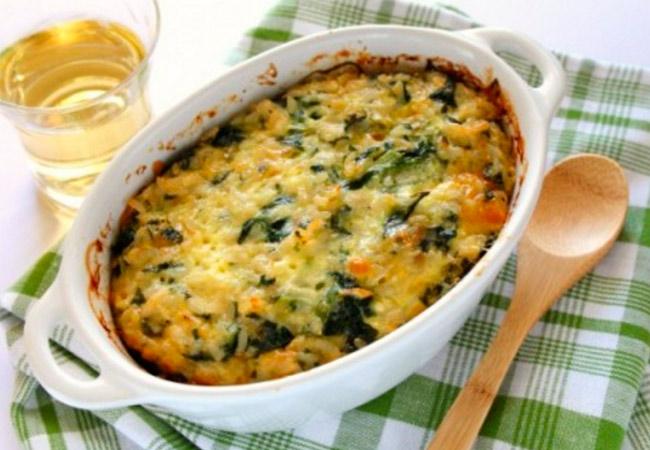 Что приготовить кормящим мамам из шпината