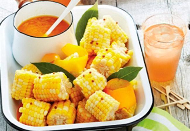 Кукуруза в рационе кормящей мамы