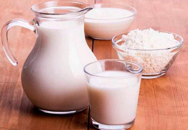 Молоко и торог