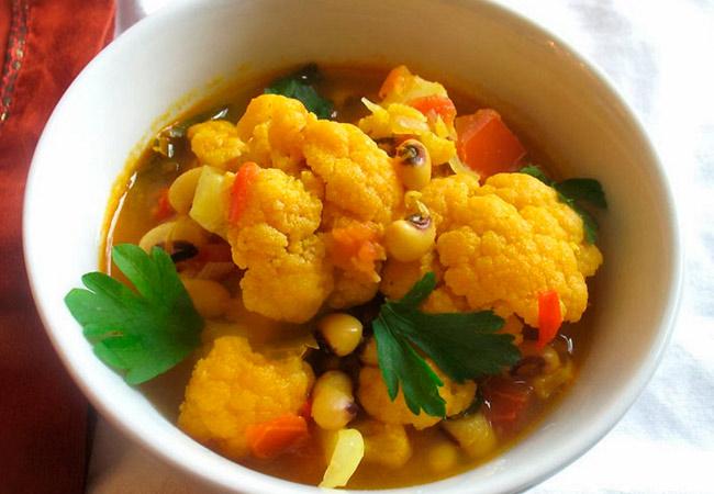 Суп из цветной капусты для кормящей мамы