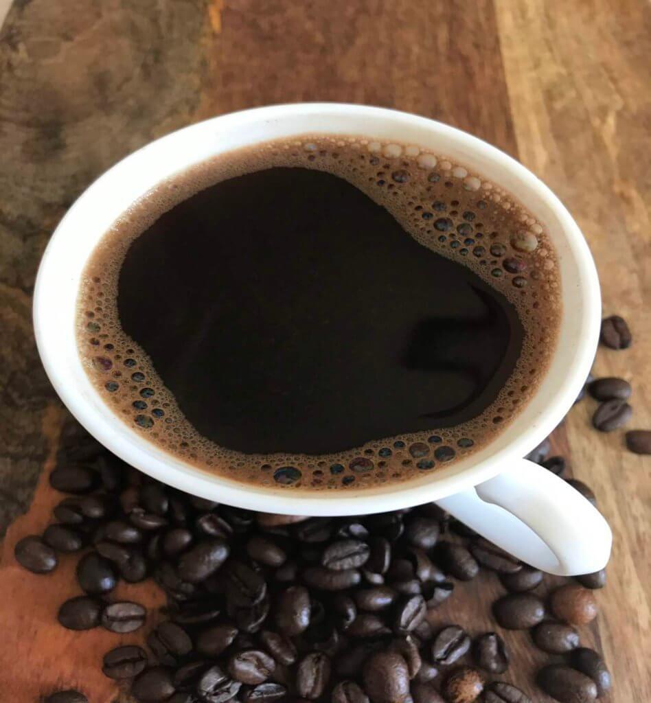Натуральный черный кофе
