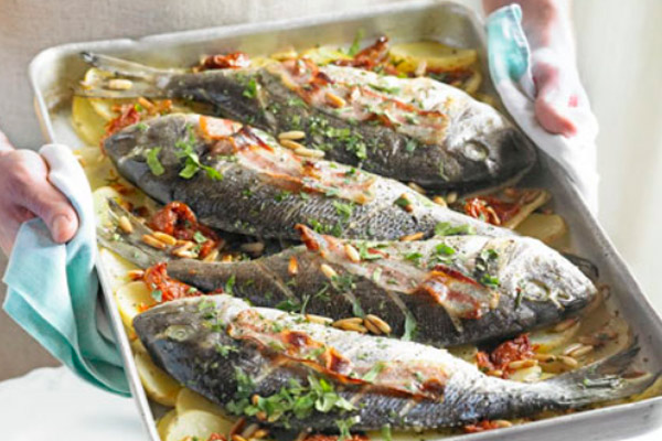 Запеченная рыба при грудном вскармливании