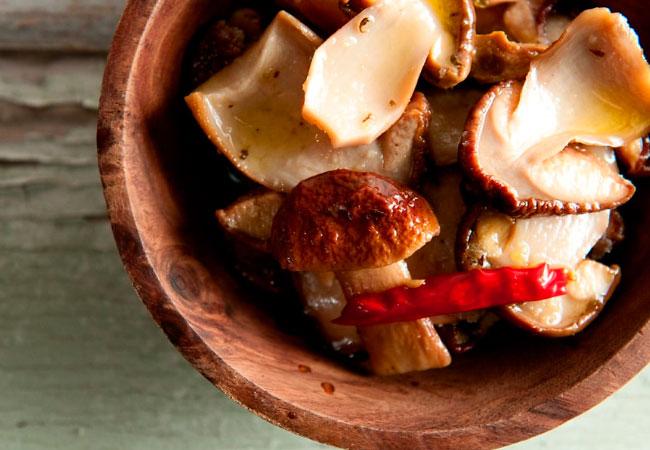 Маринованные грибы для кормящей мамы