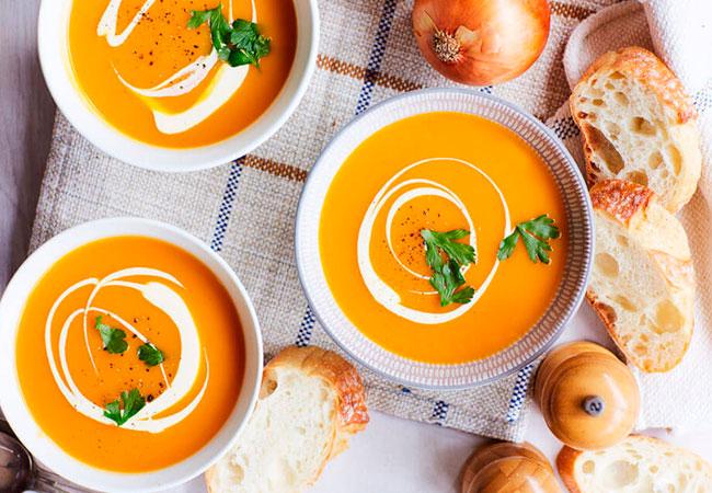 Тыквенный суп при ГВ - Мамины новости