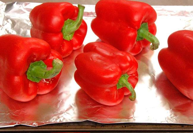 Красный сладкий болгарский перец